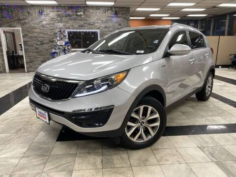 2016 Kia Sportage for sale at Sonias Auto Sales in Worcester MA