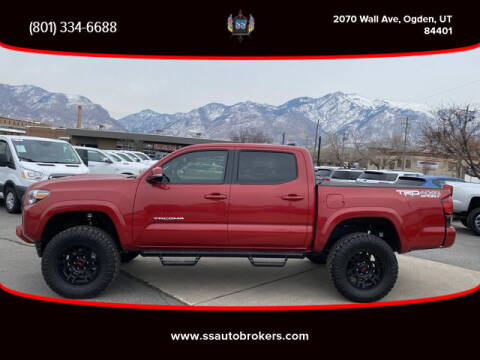 2018 Toyota Tacoma for sale at S S Auto Brokers in Ogden UT
