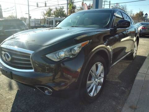 2013 Infiniti FX37 for sale at i3Motors in Baltimore MD