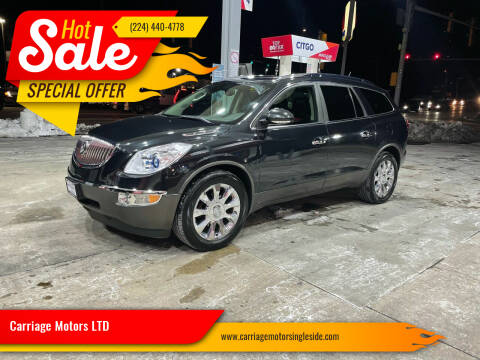 2011 Buick Enclave for sale at Carriage Motors LTD in Ingleside IL