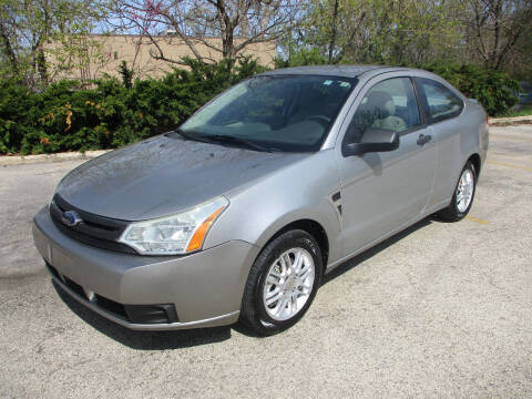 2008 Ford Focus for sale at Triangle Auto Sales in Elgin IL