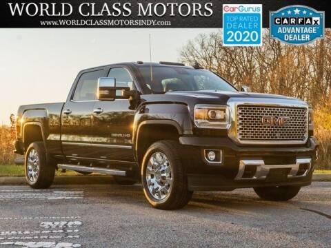 2015 GMC Sierra 2500HD for sale at World Class Motors LLC in Noblesville IN