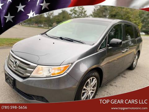 2012 Honda Odyssey for sale at Top Gear Cars LLC in Lynn MA