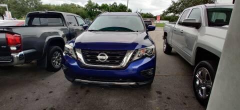 2017 Nissan Pathfinder for sale at Max Auto Sales in Sanford FL