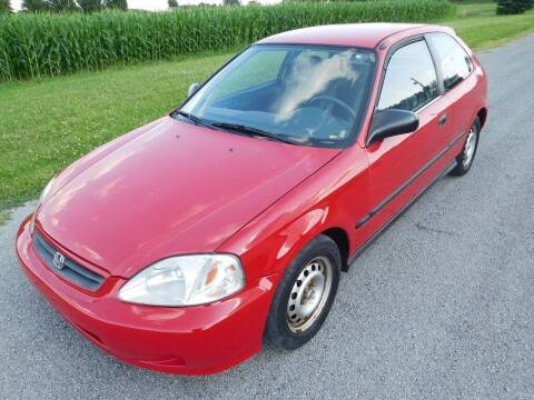 2000 Honda Civic for sale at WESTERN RESERVE AUTO SALES in Beloit OH