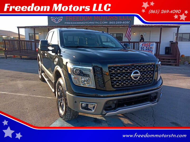2017 Nissan Titan for sale at Freedom Motors LLC in Knoxville TN