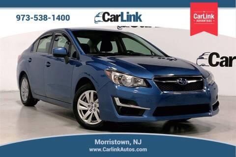 2016 Subaru Impreza for sale at CarLink in Morristown NJ