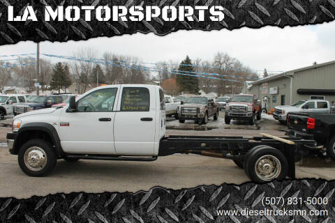 2009 Dodge Ram Chassis 5500 for sale at LA MOTORSPORTS in Windom MN