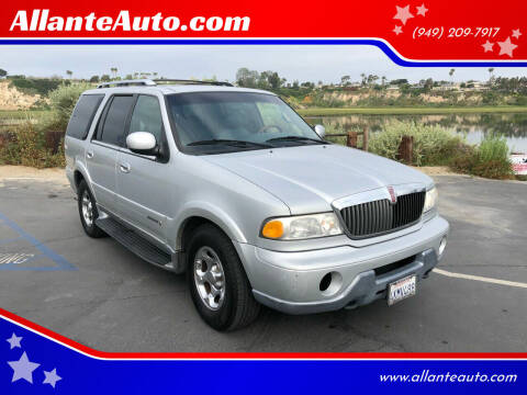 2000 Lincoln Navigator for sale at AllanteAuto.com in Santa Ana CA