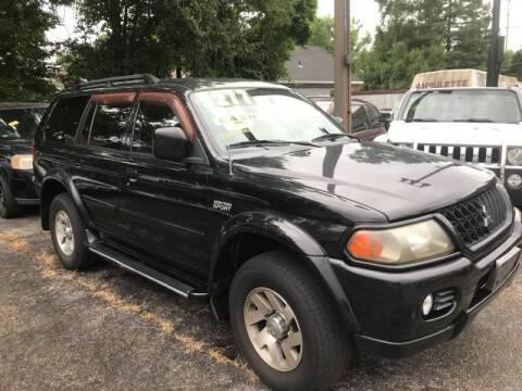 2003 Mitsubishi Montero Sport for sale at Klein on Vine in Cincinnati OH