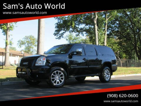2014 GMC Yukon XL for sale at Sam's Auto World in Roselle NJ