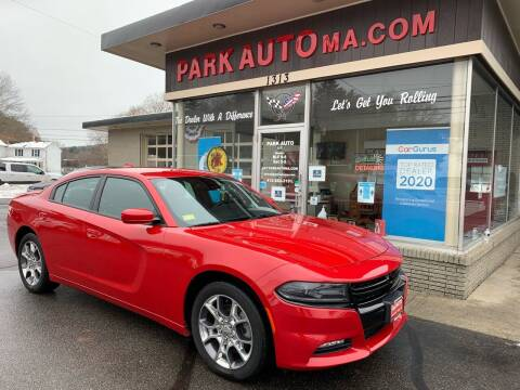 2016 Dodge Charger for sale at Park Auto LLC in Palmer MA
