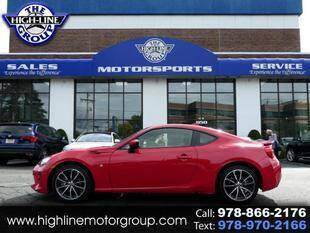 2017 Toyota 86 for sale at Highline Group Motorsports in Lowell MA