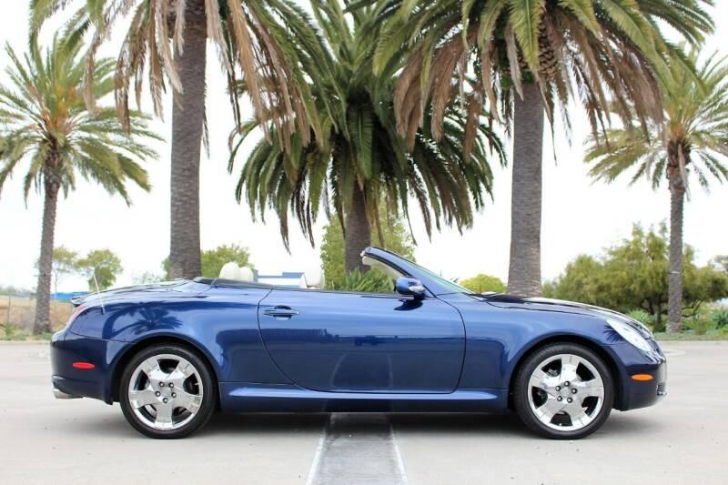 2004 Lexus SC 430 for sale at Miramar Sport Cars in San Diego CA