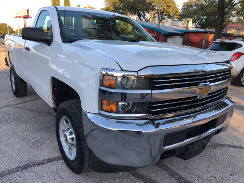 2015 Chevrolet Silverado 2500HD for sale at PRESTIGE AUTOPLEX LLC in Austin TX