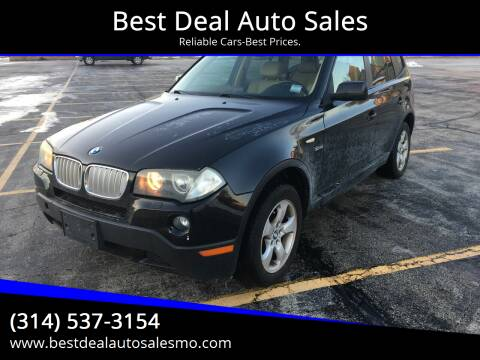 2007 BMW X3 for sale at Best Deal Auto Sales in Saint Charles MO