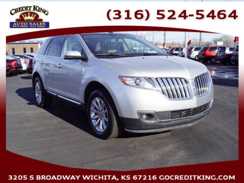 2013 Lincoln MKX for sale at Credit King Auto Sales in Wichita KS