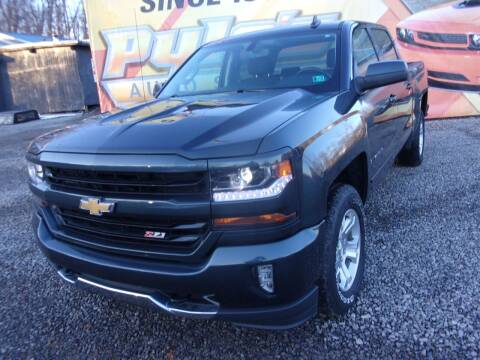2017 Chevrolet Silverado 1500 for sale at Pyles Auto Sales in Kittanning PA