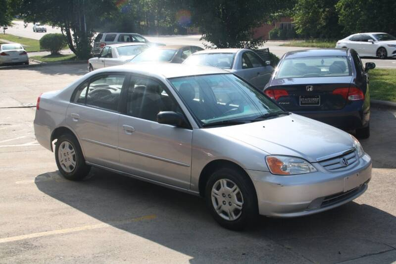 2002 Honda Civic for sale at GTI Auto Exchange in Durham NC