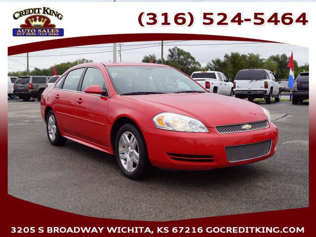 2013 Chevrolet Impala for sale at Credit King Auto Sales in Wichita KS