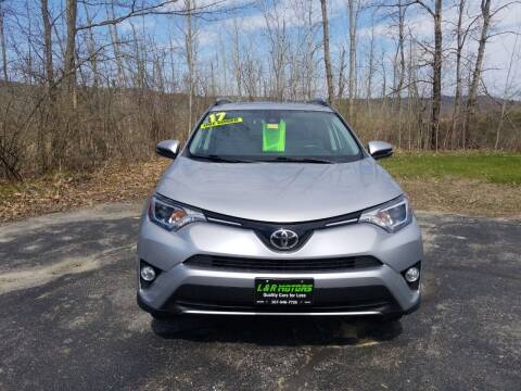 2017 Toyota RAV4 for sale at L & R Motors in Greene ME