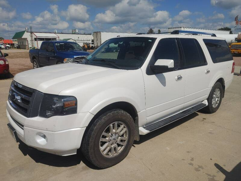 2013 Ford Expedition EL for sale at BERG AUTO MALL & TRUCKING INC in Beresford SD