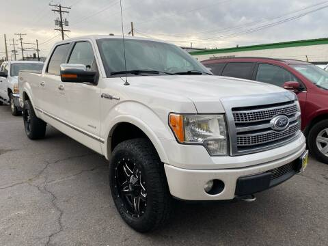 2012 Ford F-150 for sale at New Wave Auto Brokers & Sales in Denver CO