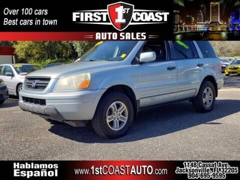 2003 Honda Pilot for sale at 1st Coast Auto -Cassat Avenue in Jacksonville FL