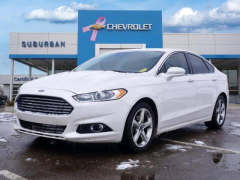 2015 Ford Fusion for sale at Suburban Chevrolet of Ann Arbor in Ann Arbor MI