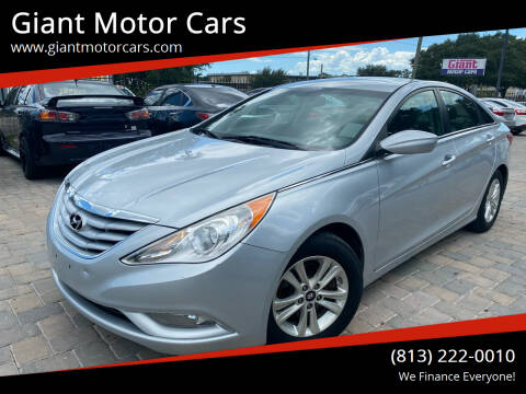 2013 Hyundai Sonata for sale at Giant Motor Cars in Tampa FL