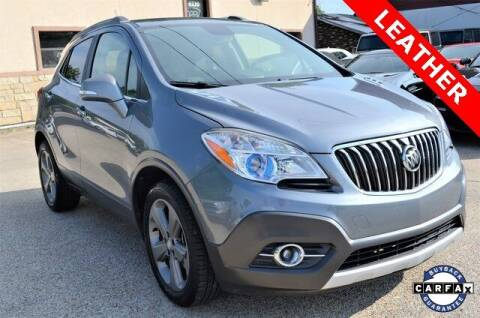 2014 Buick Encore for sale at LAKESIDE MOTORS, INC. in Sachse TX