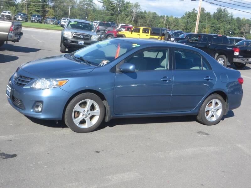 2013 Toyota Corolla for sale at Price Auto Sales 2 in Concord NH