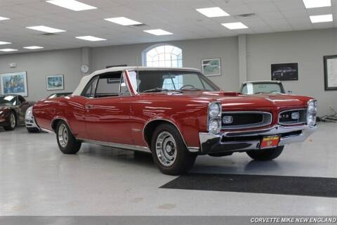 1966 Pontiac GTO for sale at Corvette Mike New England in Carver MA
