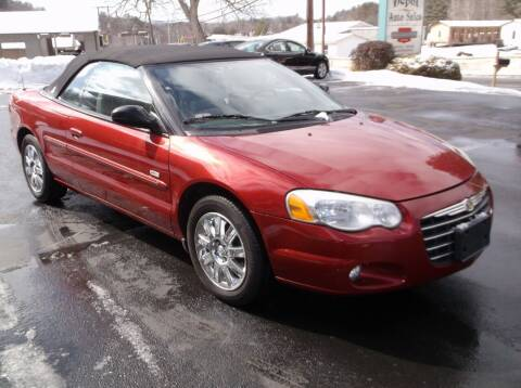 2005 Chrysler Sebring for sale at Depot Auto Sales Inc in Palmer MA