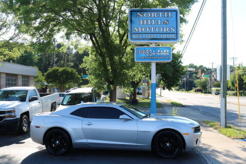 2012 Chevrolet Camaro for sale at North Hills Motors in Raleigh NC