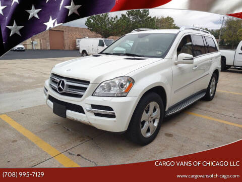 2012 Mercedes-Benz GL-Class for sale at Cargo Vans of Chicago LLC in Mokena IL