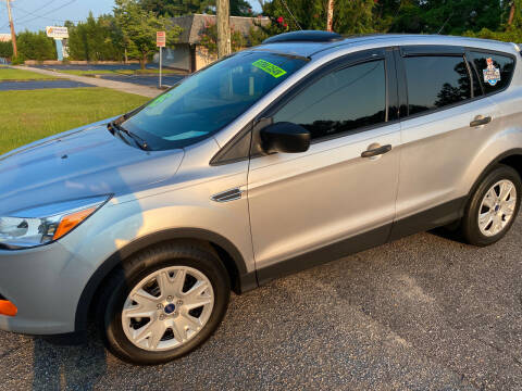 2015 Ford Escape for sale at TOP OF THE LINE AUTO SALES in Fayetteville NC
