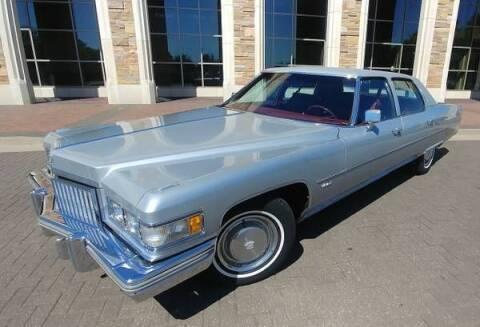 1975 Cadillac Fleetwood for sale at Classic Car Deals in Cadillac MI