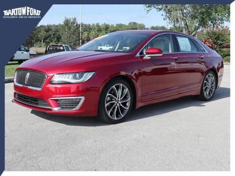 2019 Lincoln MKZ for sale at BARTOW FORD CO. in Bartow FL