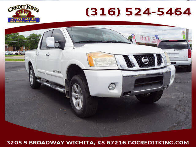 2009 Nissan Titan for sale at Credit King Auto Sales in Wichita KS