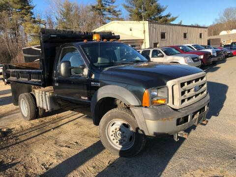 2005 Ford F-550 Super Duty for sale at Randys Auto Sales in Gardner MA