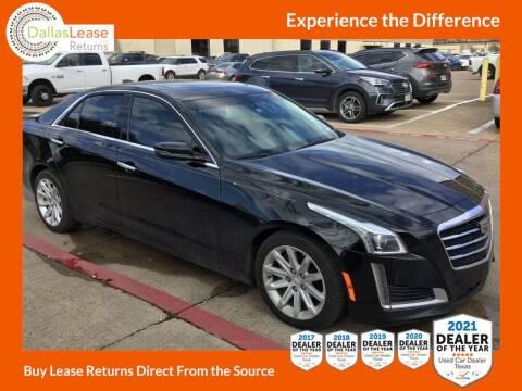 2016 Cadillac CTS for sale at Dallas Auto Finance in Dallas TX