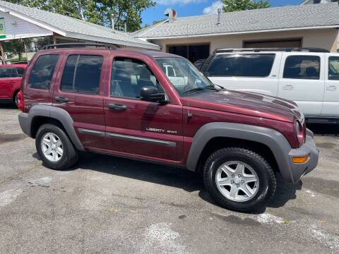 2003 Jeep Liberty for sale at Affordable Auto Detailing & Sales in Neptune NJ