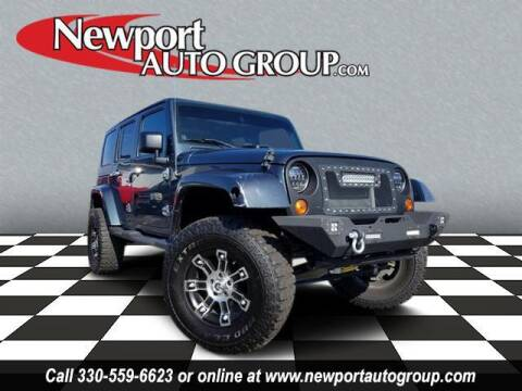 2007 Jeep Wrangler Unlimited for sale at Newport Auto Group in Austintown OH