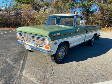 1969 Ford F-250 for sale at Clair Classics in Westford MA