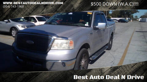 2006 Ford F-150 for sale at Best Auto Deal N Drive in Hollywood FL