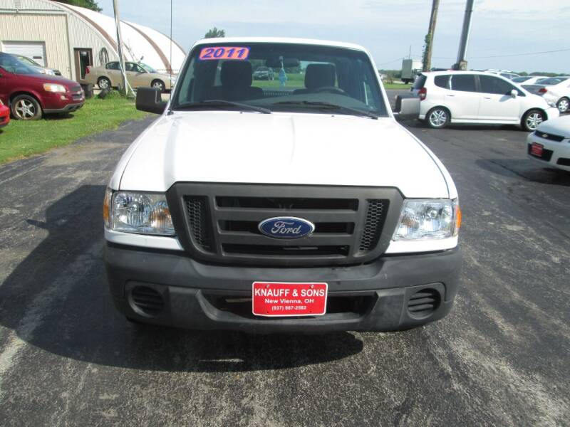 2011 Ford Ranger for sale at Knauff & Sons Motor Sales in New Vienna OH