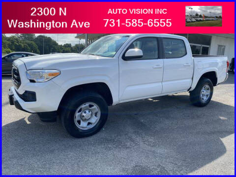 2018 Toyota Tacoma for sale at Auto Vision Inc. in Brownsville TN