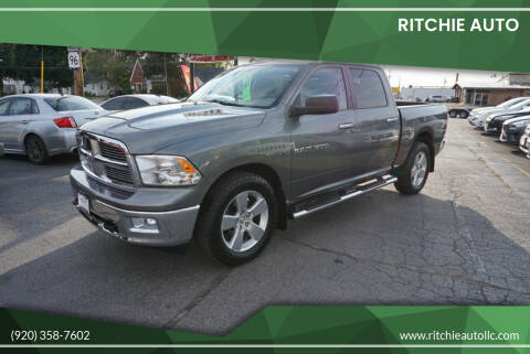 2012 RAM Ram Pickup 1500 for sale at Ritchie Auto in Appleton WI