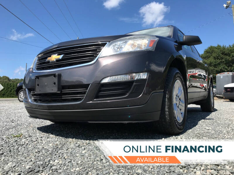 2015 Chevrolet Traverse for sale at Prime One Inc in Walkertown NC